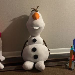 Olaf Soft Toy Big Size for Sale in Minneapolis, MN