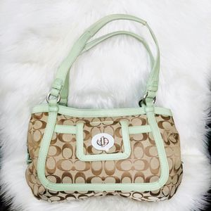 Authentic Coach Turnlock Purse for Sale in Chandler, AZ