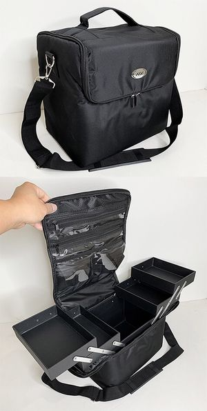 "Brand New $25 Oxford Storage Beauty Makeup Nail Salon Cosmetic Travel Case, Size 11""x8.5""x10"" for Sale in Downey, CA"
