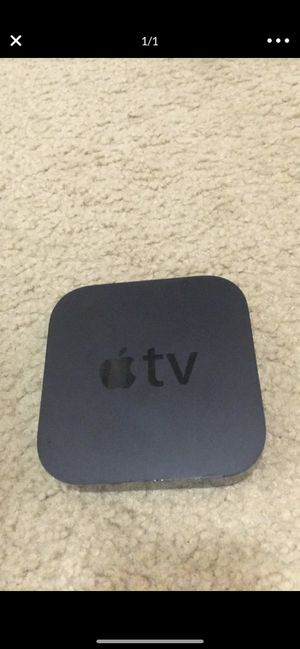 Apple TV with remote for Sale in Washington, DC
