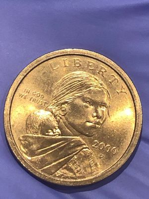 "RARE Liberty 2000 P Sacagawea Collectible Dollar Coin ""Rare Cheerios Dollar"" Amazing work created by #Gleenagoodacres for Sale in Wichita, KS"
