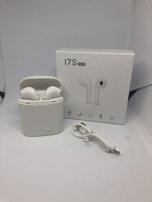 White I7s Tws Bluetooth wireless headphones audifonos for Sale in Denver, CO