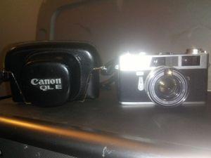 CANON QL ETQL19 CAMERA W/CASE for Sale in Wichita, KS