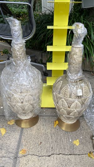 Vintage lamps set of 2 for Sale in Los Angeles, CA