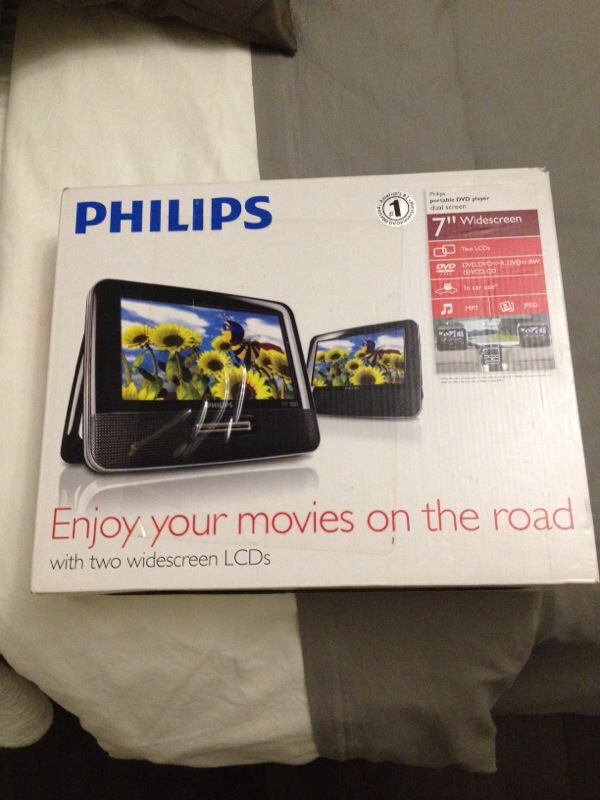Brand new in box. Two DVD player.