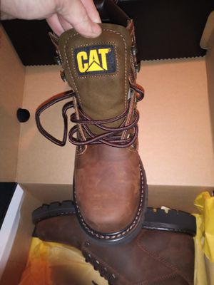 Cat second shift boots size 10. New. for Sale in Clackamas, OR