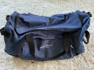 Eddie Bauer duffle bag with wheels for Sale in Seattle, WA