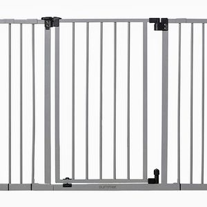 New Summer Secure Space Extra-Wide Safety Baby Gate, Grey, Slate for Sale in Hesperia, CA