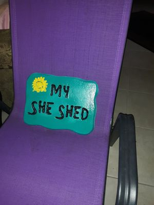 Concrete plaque My She Shed for Sale in Foley, AL