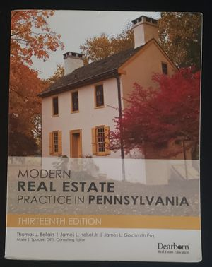 PA Real Estate National Textbook for Sale in Philadelphia, PA