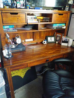 Wooden desk for Sale in San Antonio, TX