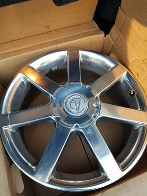 "Cadillac 18"" rims 5 lug 115 bolt pattern/No tires. CLEAN for Sale in Mentor, OH"