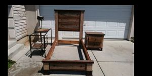 Bedroom set size twin as is 90.00 firm for Sale in West Valley City, UT
