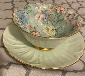 Vintage Shelley Chintz Melody Oleander Teacup & Saucer for Sale in Beaverton, OR
