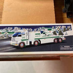 Hess Truck And Helicopter Toy for Sale in New Lenox, IL