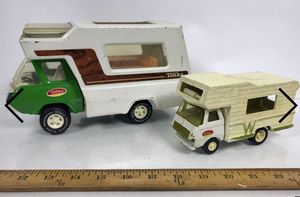 Vintage Tonka Winnebago And Tonka Truck Camper for Sale in Corona, CA