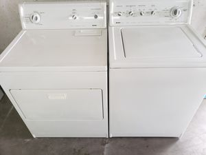 Great working heavy duty Kenmore washer and dryer set for Sale in Vancouver, WA