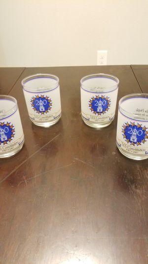 Vintage set of 4 Constitution Glasses for Sale in Garner, NC