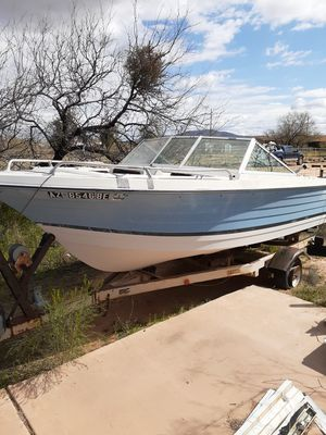 Boat and trailer for Sale in Tucson, AZ