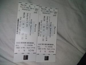 2 Mariza Tickets at Miner Auditorium...Sun, Apr 14th -3pm for Sale in San Francisco, CA