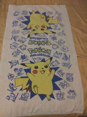 old pokemon towel for Sale in Los Angeles, CA