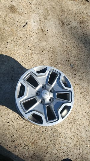 "Jeep wrangler 17"" wheel $80 for Sale in Conroe, TX"