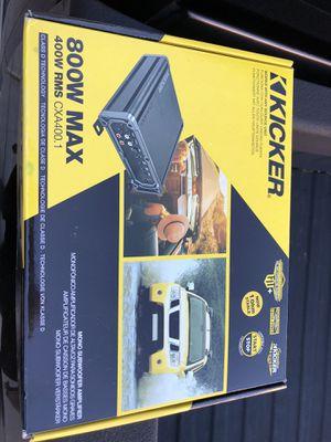 Kicker 800w amplifier for Sale in Las Vegas, NV