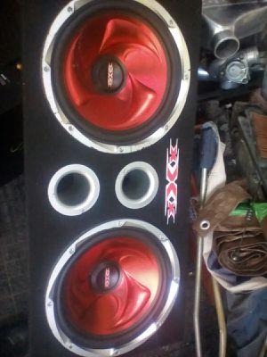 Triple XXX subs in box 12 inch for Sale in Granite Falls, WA