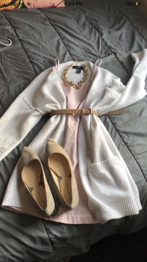 Pale pink forever 21 body con dress for Sale in Columbus, GA