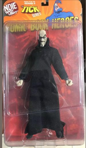 SUPER RARE MR. GONE GBJR Toys Indie Spotlight Action COMIC BOOK HEROES THE TICK Brand New Ultra Super Rare Figure for Sale in Chula Vista, CA