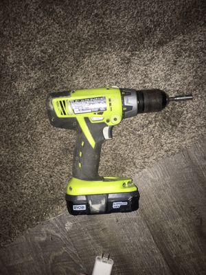 Ryobi p213 cordless hammer drill. for Sale in Lake Milton, OH