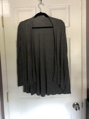 Gray cardigan for Sale in Hacienda Heights, CA