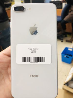 Factory unlocked iPhone 8plus 64gb, store warranty for Sale in Revere, MA