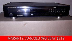 MARANTZ CD 67SEU AND SONY WR645S for Sale in Phoenix, AZ
