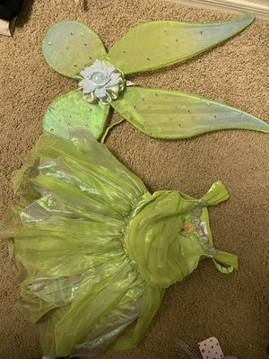 3t Disney Store Tinkerbell Costume with light up wings for Sale in Peoria, AZ
