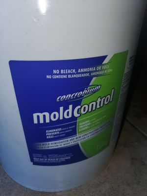 5gal. Mold control remediation chemical for Sale in Houston, TX