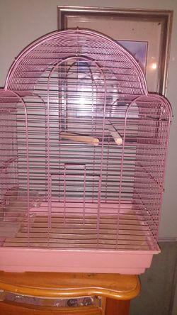 Cute Pinkish Bird cage for Sale in Hernando,  FL