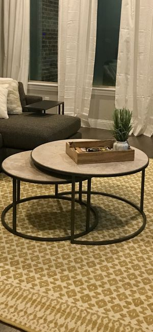 Round Marble Coffee table for Sale in McKinney, TX