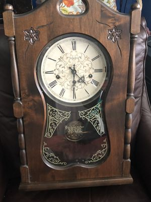 Classic vintage made in the USA #435, Ansonia wall clock for Sale in Aloha, OR