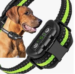 Dog Bark Collar-5 Adjustable Sensitivity and Intensity Levels-Dual Anti-Barking Modes-Rechargeable/Rainproof/Reflective Dog Shock Collar for Sale in Ontario,  CA