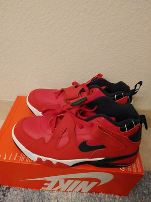 Nike Air Force Max CB Leather Red size 11.5 men for Sale in San Leandro, CA