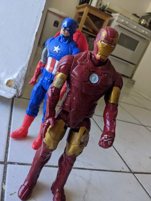 Iron Man and Captain America for Sale in Los Angeles, CA