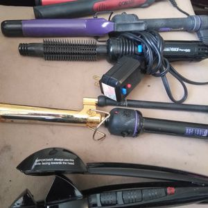 Women's Hair Curling Items. Some With Brushes And Some Different Kinds Of Curling Irons. $10, $15. Obo for Sale in Henderson, CO