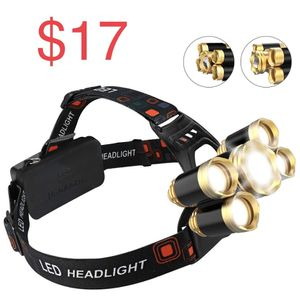 New 5 lights rechargeable Headlamp for Sale in Irwindale, CA