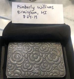 Chanel BNWT wallet on chain, authentic for Sale in Birmingham, MI
