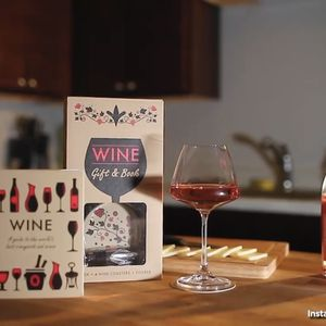 Wine Boxset (Includes 4 Wine Coasters and Pourer) for Sale in Minneapolis, MN