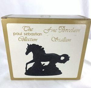 VINTAGE!!! STALLION Fine Porcelain Figurine by The Paul Sebastian Collection for Sale in Las Vegas, NV