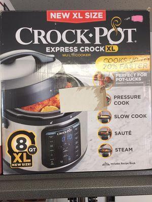 New Crock Pot XL Express Multi-Cooker for Sale in Warren, MI