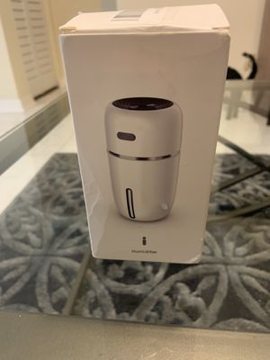 USB ultra sonic portable small humidifier for Sale in North Lauderdale, FL