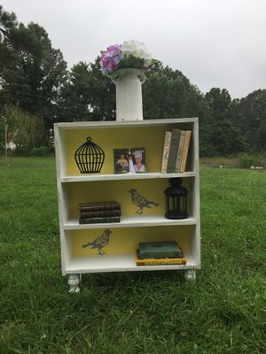 Small bookshelf 37 inches tall 17 inches wide 7 1/2 inches deep for Sale in Pamplin, VA